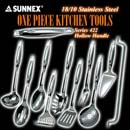 Sunnex One Piece Hollow Handled Kitchen Tools Series 422 (Hong Kong)