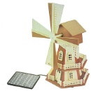Solar Educational Plastic Windmill Kit (Hong Kong)