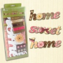 DIY Alphabet Chipboard Kit - Home Sweet Home (Hong Kong)
