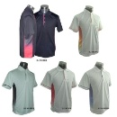 Micro Fiber Cooldry Polo Tee Shirt for Promotional Apparel (Singapore)
