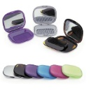 Plastic Folding Mirror With Comb (Hong Kong)