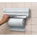 Paper Dispenser for Clear Wrap, Aluminum Foil,and Paper Towel (Hong Kong)