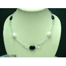 Sterling Silver Pearl Necklace (Hong Kong)
