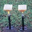 Rechargeable Solar LED Garden Lamp (Hong Kong)