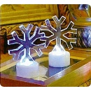 Acrylic Snowflake Lights (Hong Kong)