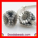 Solid Sterling Silver Pandora Daisy Beads (Mainland China)