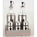 5pcs Glass Spice Jar Set (Hong Kong)