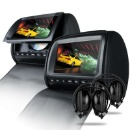 HD905 Car Headrest DVD Player with Digital Screen (Hong Kong)