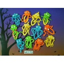 6 Styles PVC Monster Clip with Bright Colour (Hong Kong)
