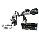 HD New Generation Die Cast Microscope and Wide Angle Telescope Set (Hong Kong)