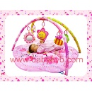 Pink Flower Music Party Play Mat (Mainland China)