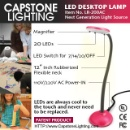 LED Desktop Lamp (Mainland China)