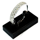 18K  Branco Ouro Diamante Bracelete (kong do hong)