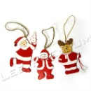 Wooden Christmas Hanging Item (Hong Kong)