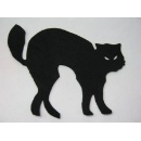 Hanging Felt Black Cat for Decoration (Hong Kong)
