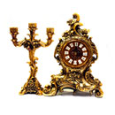 Decorative Table Clock Set (China)