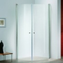 Corner Shower Enclosure with double doors (China)