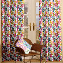 Floral Patterned Curtain (India)