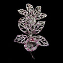 18K White Gold Brooch (Thailand)