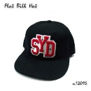 Embroidered Wide Brim Baseball Cap (Hong Kong)