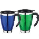 Plastic Insulated Coffee Mug (Double Wall) (Hong Kong)