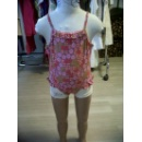Girl Swimwear with Flower Printing (Hong Kong)