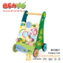 Wooden New Model Round Wheel Baby Walker  (Mainland China)