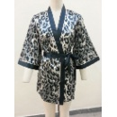 100% Polyester Satin Ladies Robe (Hong Kong)