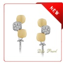 Perle Boucle d'oreille Supports (Chine)