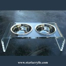 Acrylic Pet Dining Table (China)