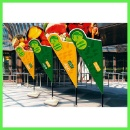 Flag Banner Stand Display (China)