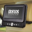 9 Inch car headrest car DVD Player with Built In Battery (Mainland China)