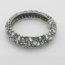 Fashion Pearl&Rhinestones Bangle (Hong Kong)