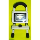 10W Rechargeable Portable LED Floodlight (Hong Kong)