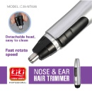 Nose/ Ear Hair Trimmer (China)