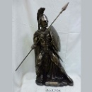 Bronze Ancient Warrior Statue (Taiwan)