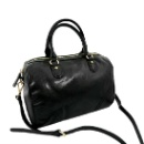 Cow Hide Leather Satchel Bag (Hong Kong)