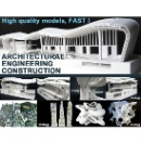 3D Printed Architectural Engineering & Construction Models (Hong Kong)