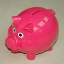 Plastic Piggy Bank (Hong Kong)