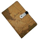 Leather Map Cover (China)