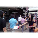 Distributing Leaflet (Hong Kong)