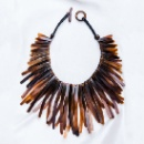 Horn Leather Necklace (Japan)