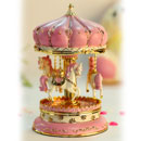 Rotating Carousel Music Box (China)
