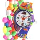 ALEXIS Silicone Colorful Fashion Watch (Hong Kong)