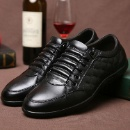 New Men's Genuine Leather Shoes Business Shoes Leisure Shoes (China)