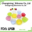 Different Funny Shape Silicone Cupcake Molds (Mainland China)
