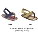 Boy Plaid Sandal (Hong Kong)