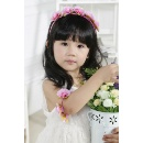 Small Girls Artificial Flower Hair Accessories (Mainland China)