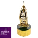 Gold Plated Burj Al Arab Hotel Music Box (Hong Kong)