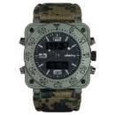 INFANTRY Mens Analogue Military Army Nylon Square Wrist Watch (Hong Kong)